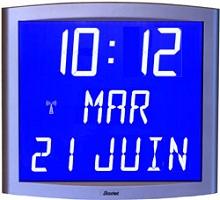Horloges bodet opalys for Afficheur numerique exterieur